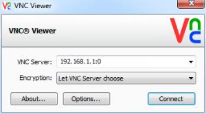 Connexion VNC Viewer