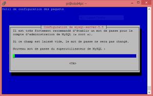 Configuration de MySQL